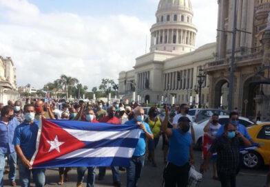 Protesterne i Cuba søndag den 11. juli bærer USA's beskidte fingeraftryk